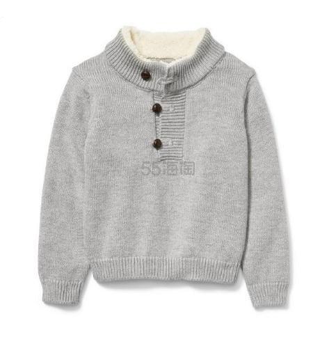 Janie and Jack 男童款灰色毛衣 .39(约179元) - 海淘优惠海淘折扣|55海淘网
