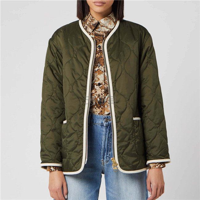 Barbour X Alexa Chung 女士棉衣外套 ¥1,477.05 - 海淘优惠海淘折扣|55海淘网