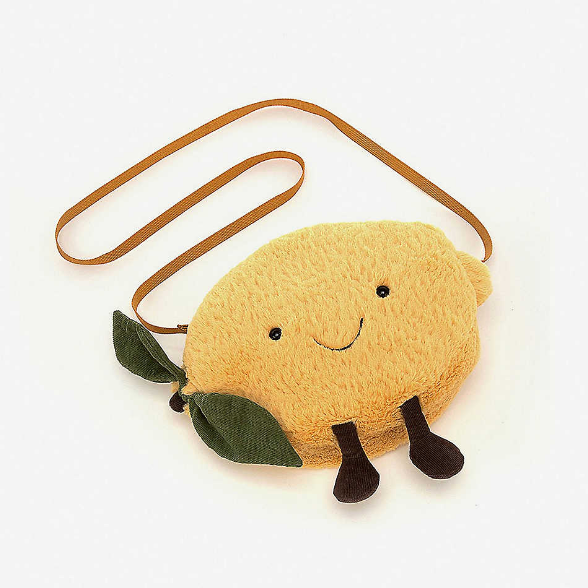Jellycat Amuseable Lemon Bag 柠檬造型包