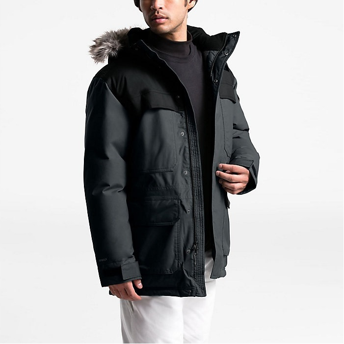 3色码全~The North Face 北面 McMurdo Parka III 男士羽绒派克大衣