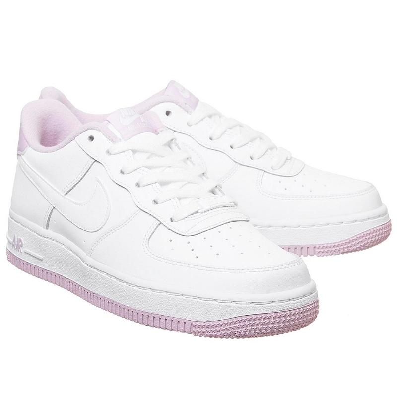 Nike 耐克 Air Force 1 空军1号 粉白色低帮运动鞋