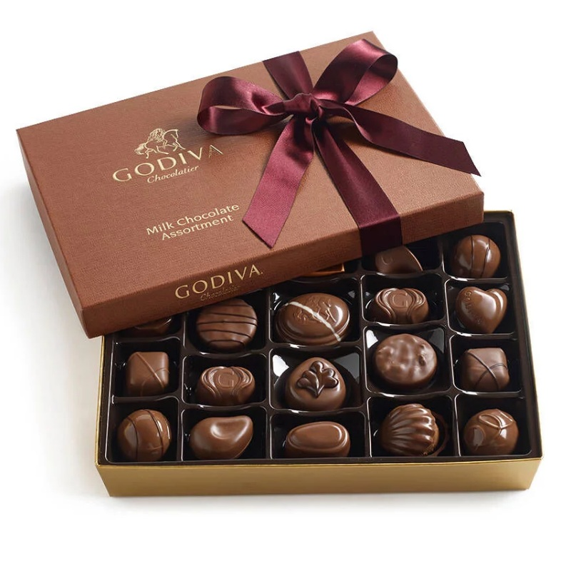 Godiva 歌帝梵 什锦牛奶巧克力礼品盒 22颗
