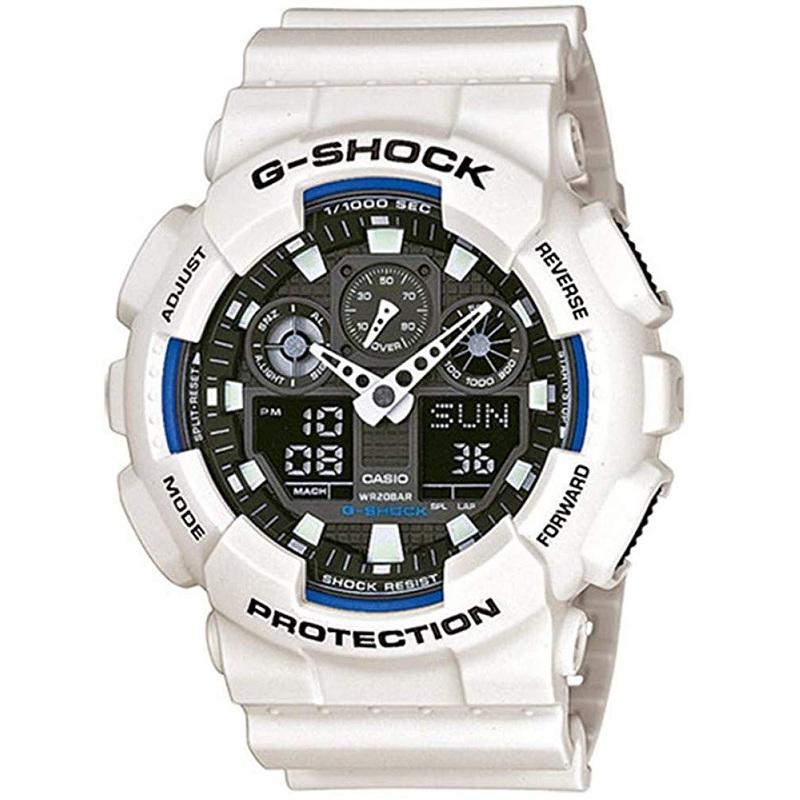 Casio 卡西欧 G-Shock 系列 运动防水男士手表 GA-100