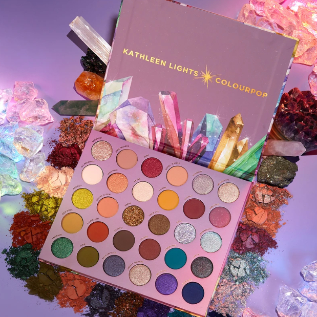 Kathleen Lights x Colourpop 联名款 多色眼影盘 so jaded