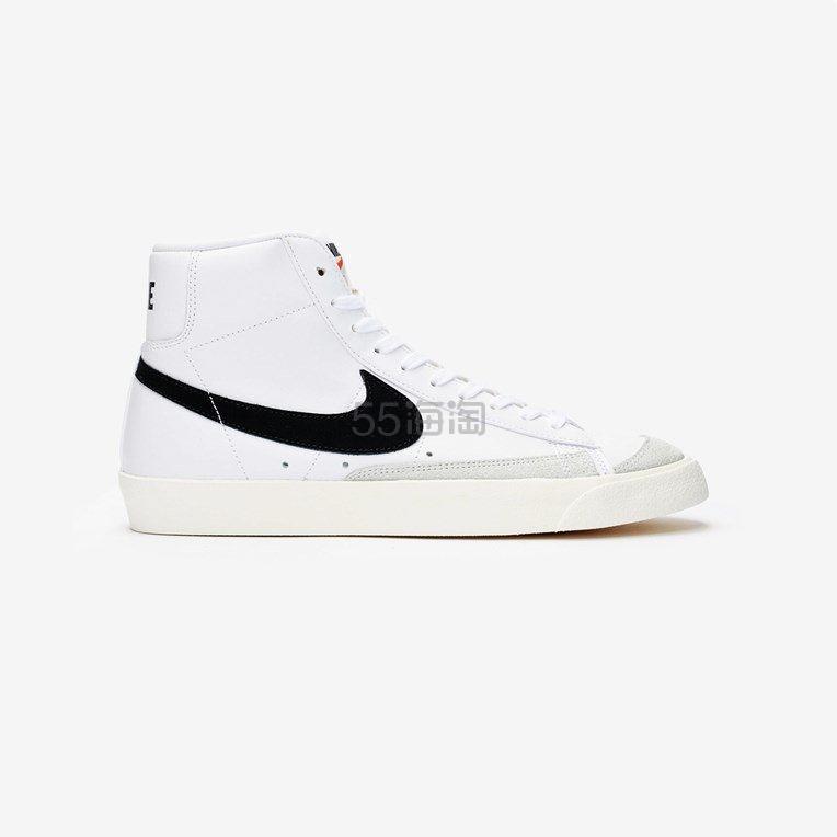 NIKE BLAZER MID 77 黑色 SWOOSH 高帮运动鞋 (约684元) - 海淘优惠海淘折扣|55海淘网