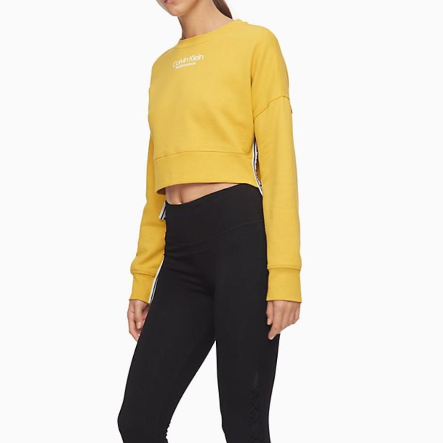 Calvin Klein 官网女士休闲串标卫衣