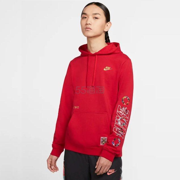 【2件7折】Nike Sportswear Club 男子套头连帽衫 ¥454.3 - 海淘优惠海淘折扣|55海淘网
