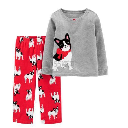 Carters 两件套童款睡衣 .99(约62元) - 海淘优惠海淘折扣|55海淘网