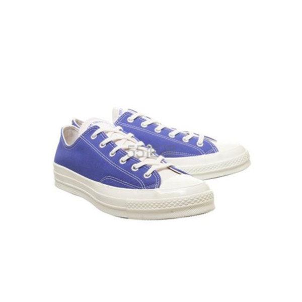 【7码起有货】Converse All Star Ox 70s 拼接低帮帆布鞋 (约414元) - 海淘优惠海淘折扣|55海淘网