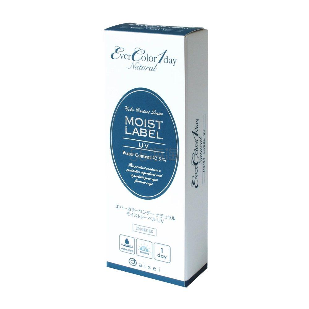【无门槛免邮中国】EverColor1day Natural 日抛美瞳彩色隐形眼镜 20片装 多色可选 2,493日元(约159元) - 海淘优惠海淘折扣|55海淘网