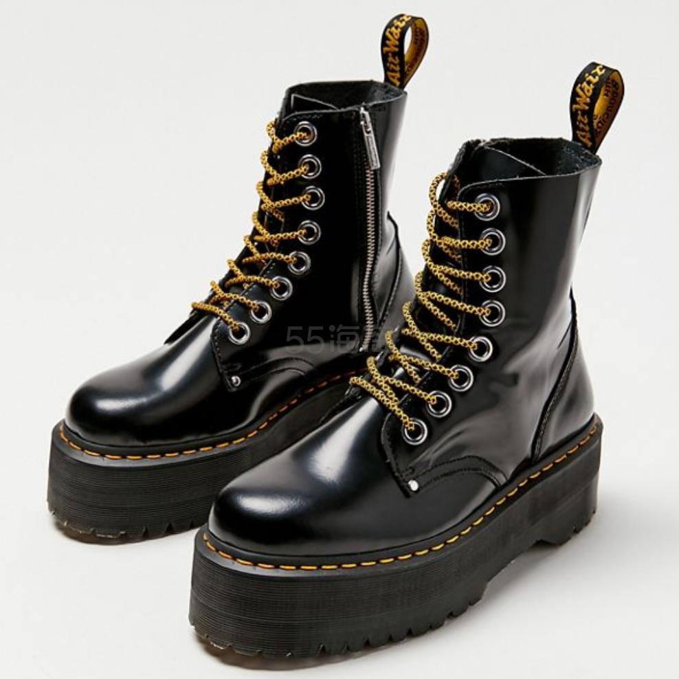 Dr. Martens 马丁博士 Jadon Max 厚底皮靴 0(约1,383元) - 海淘优惠海淘折扣|55海淘网