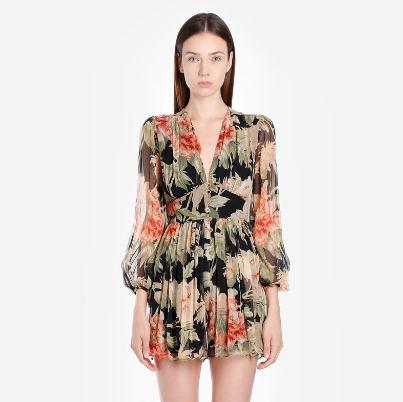 ZIMMERMANN Jumpsuits 印花连体裤