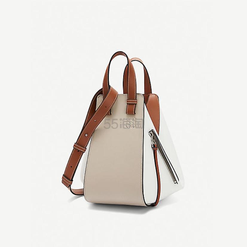 Loewe Hammock 小号皮革正绒面革手袋 £1,700(约15,325元) - 海淘优惠海淘折扣|55海淘网