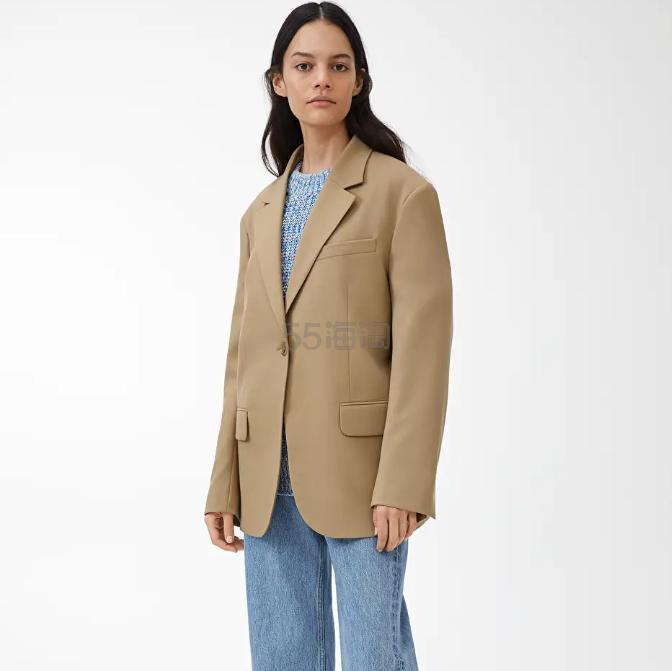 ARKET 宽松羊毛西装外套 9(约1,373元) - 海淘优惠海淘折扣|55海淘网