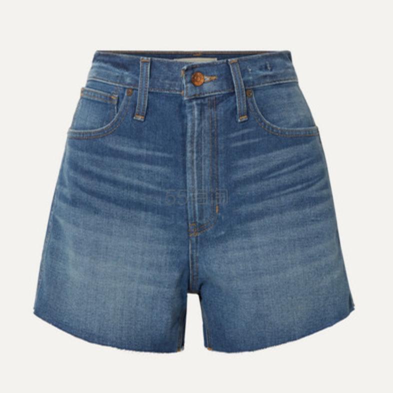 Madewell The Perfect Vintage 毛边牛仔短裤 (约207元) - 海淘优惠海淘折扣|55海淘网