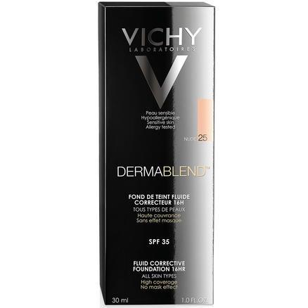 Vichy 薇姿 Dermablend 持久遮瑕粉底液 SPF35 30ml 25号裸色