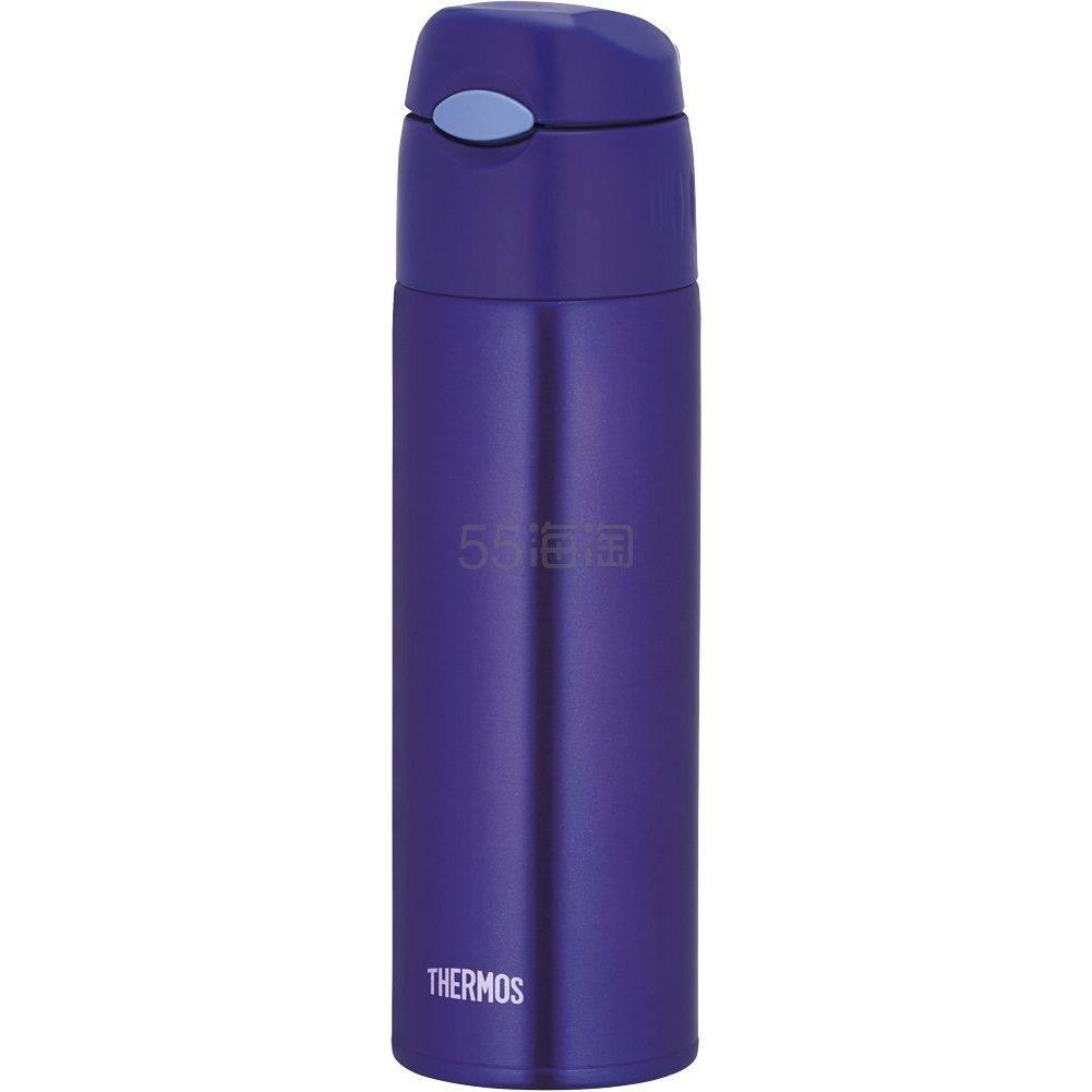 3件9折!【中亚Prime会员】Thermos 真空保温吸管瓶水杯 0.55L 蓝色 FHL-550-BL 到手价120元 - 海淘优惠海淘折扣|55海淘网