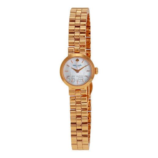 Kate Spade Gramercy 系列 玫瑰金色女士时尚腕表 .99(约677元) - 海淘优惠海淘折扣 55海淘网
