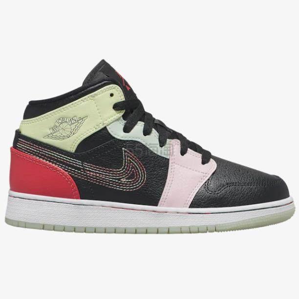 【额外7.5折】乔丹 Air Jordan 1 Mid 大童款篮球鞋 .49(约469元) - 海淘优惠海淘折扣|55海淘网