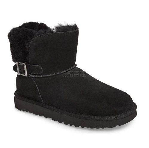 5码有货~UGG Karel Boot 黑色短款雪地靴