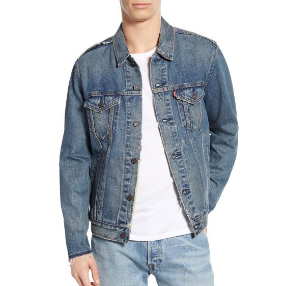 LEVI'S Denim Trucker Jacket 男士牛仔夹克