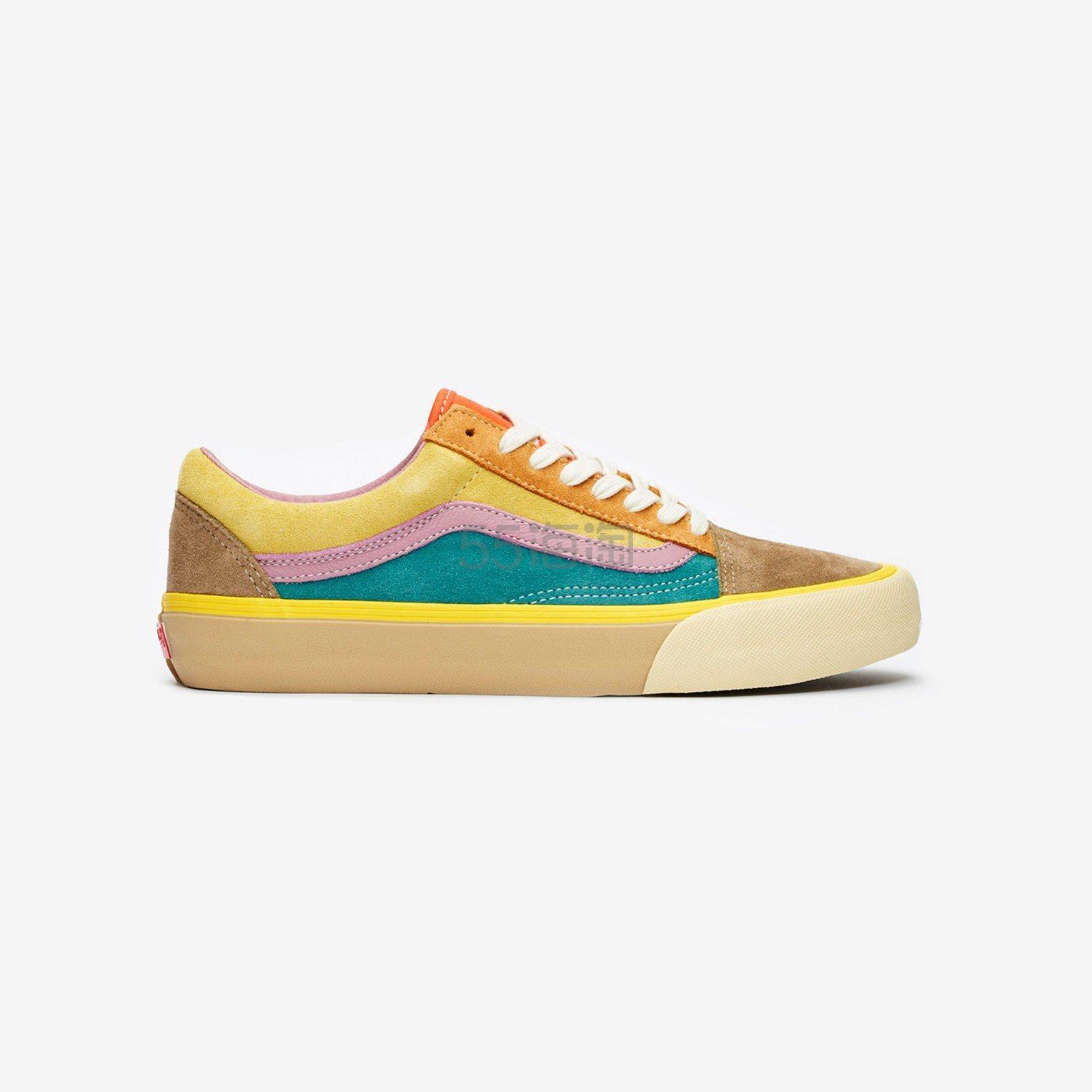 Vans Old Skool VLT LX 女款拼色滑板鞋 .3(约383元) - 海淘优惠海淘折扣|55海淘网