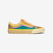 Vans Old Skool VLT LX 女款拼色滑板鞋
