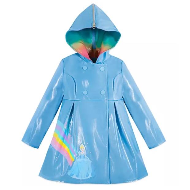 Disney 迪士尼 灰姑娘 儿童防雨外套