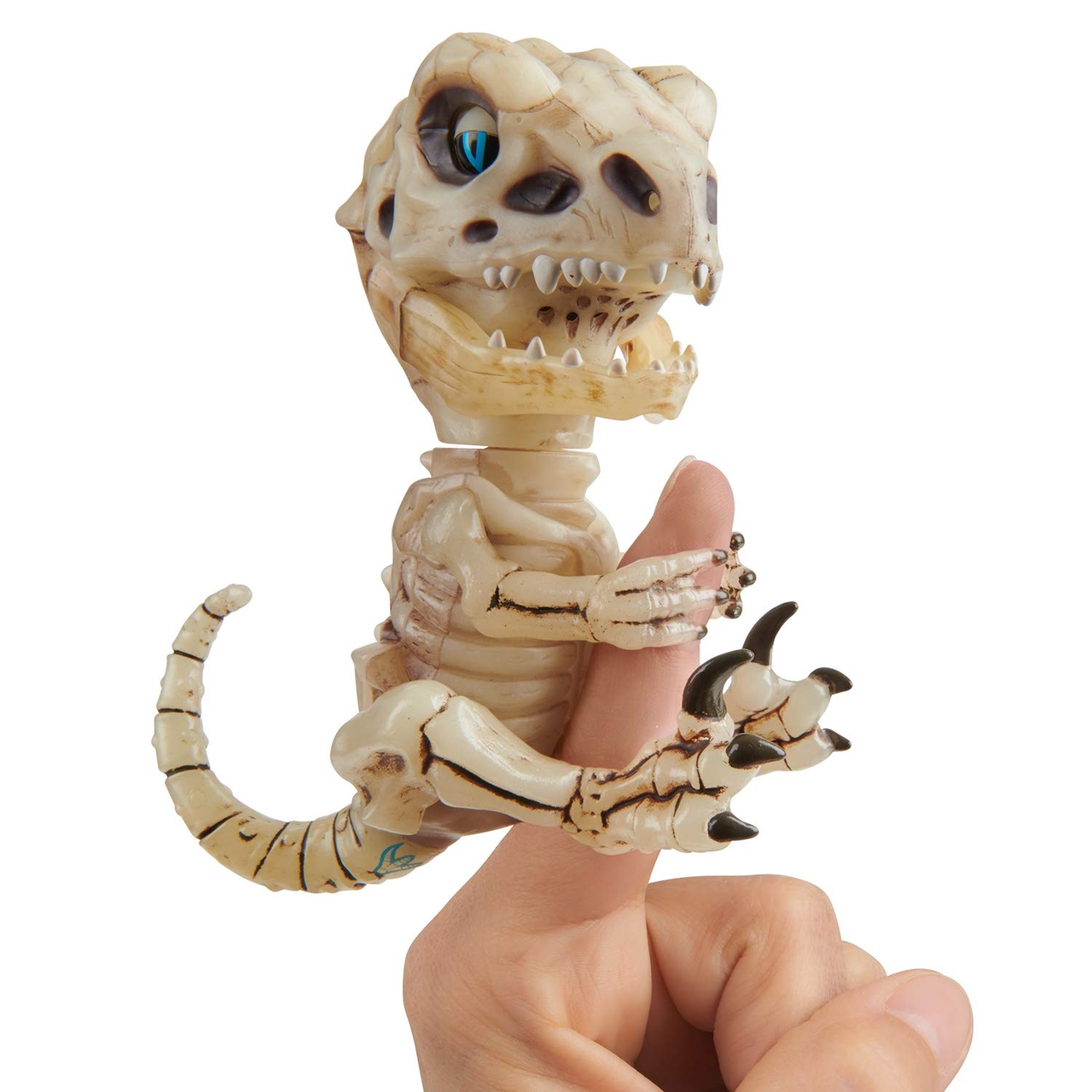 【含税直邮】WowWee 凶猛迅猛龙恐龙骨架手指互动玩具