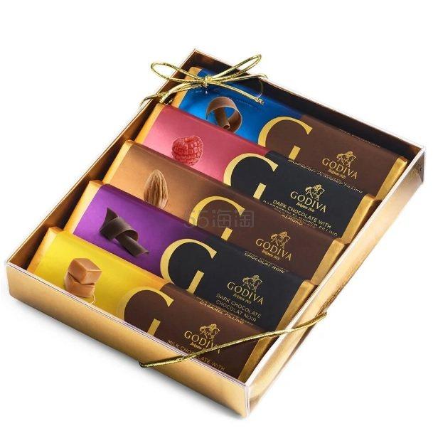 Godiva 歌帝梵 经典巧克力排块礼盒 .5(约73元) - 海淘优惠海淘折扣|55海淘网