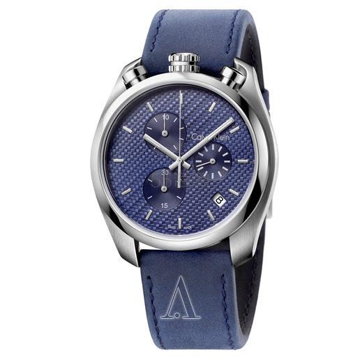 Calvin Klein 卡尔文·克雷恩 Control 系列 蓝色男士时装腕表 K6Z371VN