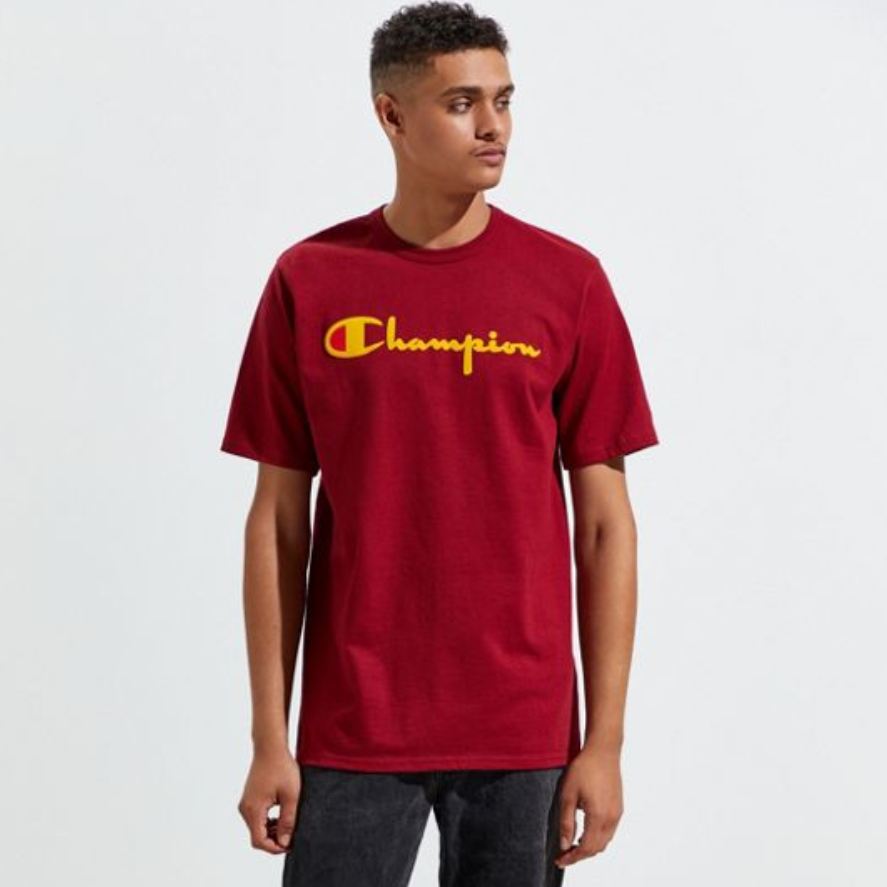 Champion 冠军 Heritage Direct Flock T恤