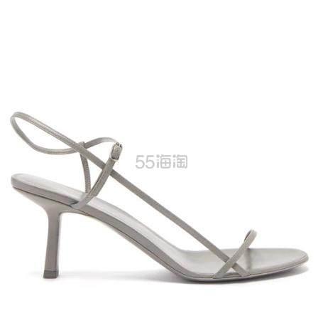 THE ROW Bare 灰色中跟凉鞋 €528.7(约3,994元) - 海淘优惠海淘折扣|55海淘网