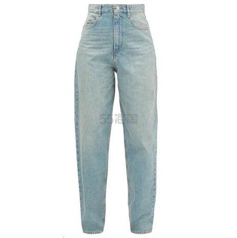 ISABEL MARANT ÉTOILE Corsy 牛仔裤 €178.5(约1,348元) - 海淘优惠海淘折扣|55海淘网