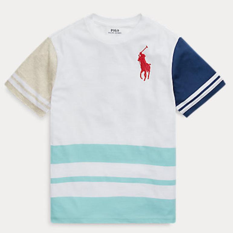 Ralph Lauren 拉夫劳伦 Cotton Jersey T恤