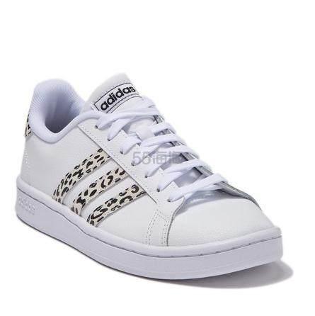 adidas Grand Court 女款运动鞋 .97(约346元) - 海淘优惠海淘折扣 55海淘网
