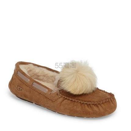 UGG Dakota 女款防水毛绒平底鞋 .97(约325元) - 海淘优惠海淘折扣|55海淘网