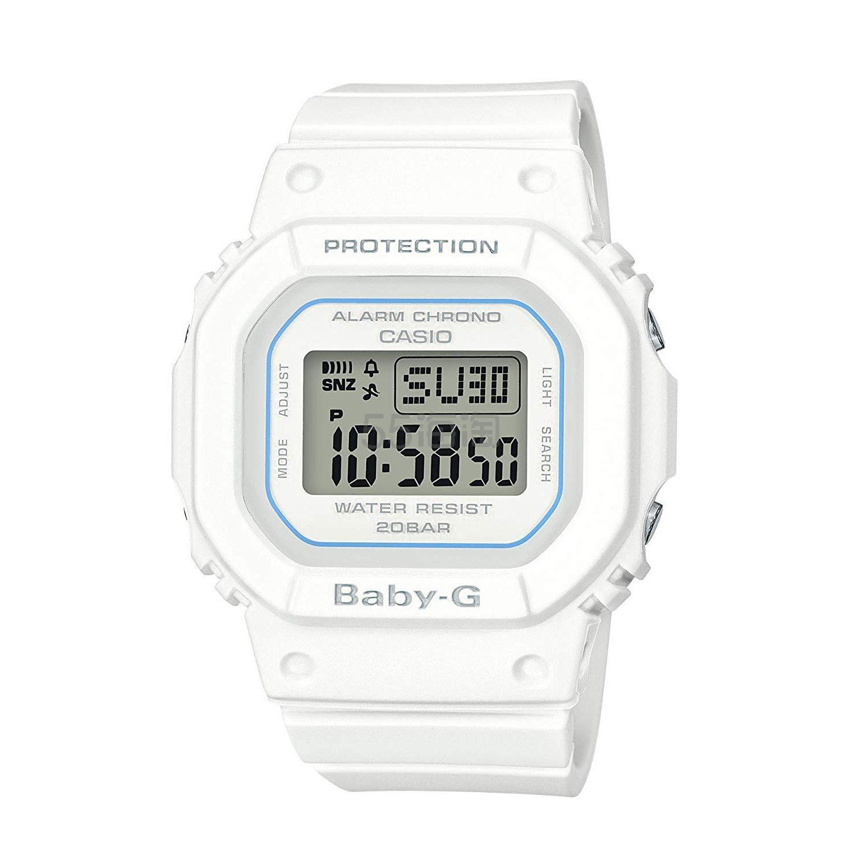 【中亚Prime会员】Casio 卡西欧 Baby-G 白色女士石英手表 BGD-560-7ER 到手价451元 - 海淘优惠海淘折扣|55海淘网