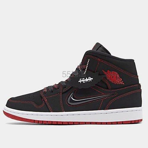 乔丹 Air Jordan 1 Mid 男子篮球鞋 Fearless 0(约762元) - 海淘优惠海淘折扣|55海淘网