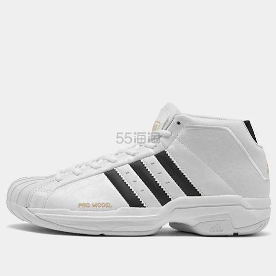 adidas 阿迪 Pro Model 2G 男子篮球鞋 (约624元) - 海淘优惠海淘折扣|55海淘网
