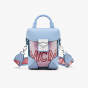 MCM 美国官网 Soft Berlin Crossbody in Hologram 薯条包