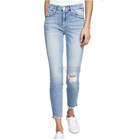 MOTHER The Looker 九分牛仔裤 8(约1,586元) - 海淘优惠海淘折扣|55海淘网