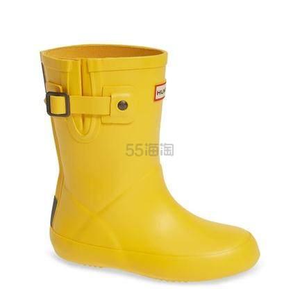 Hunter Buckle Strap  儿童黄色雨靴 .97(约243元) - 海淘优惠海淘折扣|55海淘网