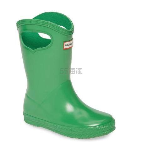 Hunter Classic 绿色童款雨靴 .97(约208元) - 海淘优惠海淘折扣 55海淘网