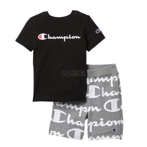 Champion French Terry Giant 童款套装 .97(约139元) - 海淘优惠海淘折扣 55海淘网