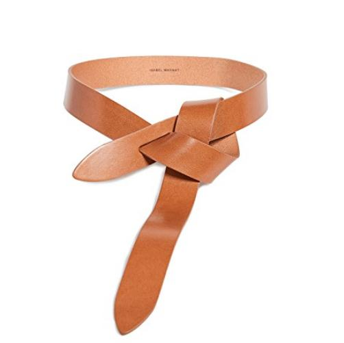 Isabel Marant Lecce Leather Belt 打结设计腰带