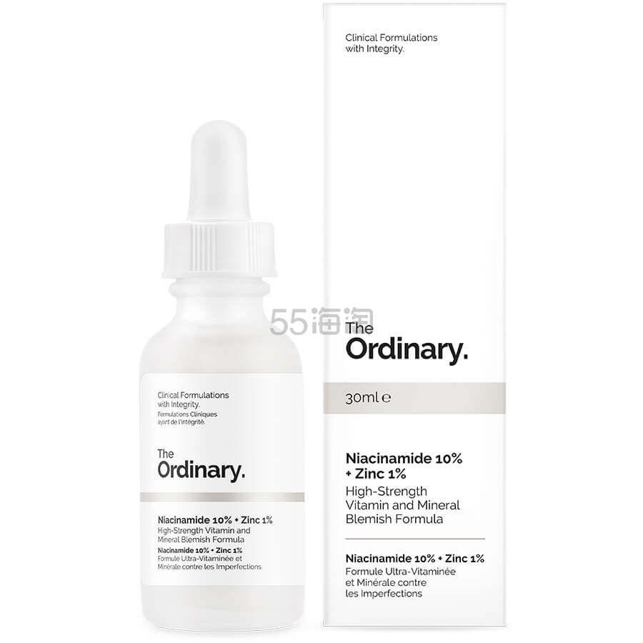 The Ordinary 烟酰胺锌美白精华 30ml £5(约45元) - 海淘优惠海淘折扣|55海淘网