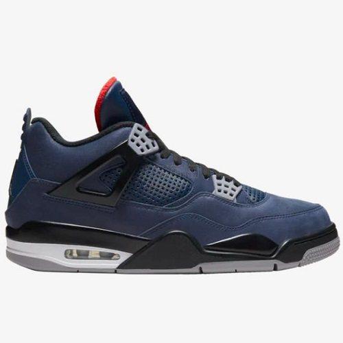 乔丹 Air Jordan Retro 4 男子篮球鞋 小阿姆 黑蓝 9.99(约1,252元) - 海淘优惠海淘折扣|55海淘网