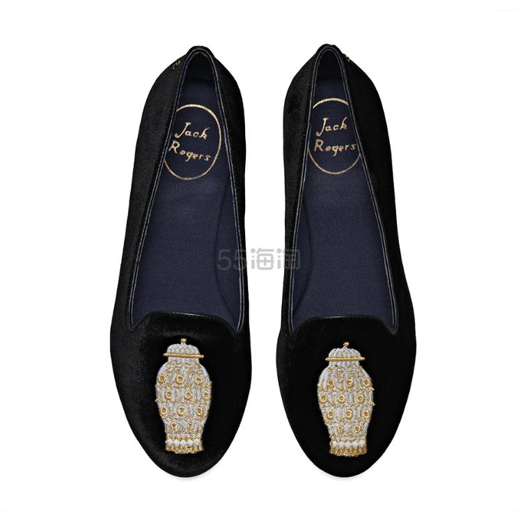 Jack Rogers 刺绣平底乐福鞋 (约410元) - 海淘优惠海淘折扣|55海淘网
