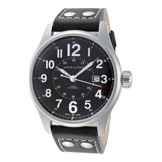 Hamilton 汉密尔顿 Khaki Field 系列 银黑色男士机械腕表 H70615733